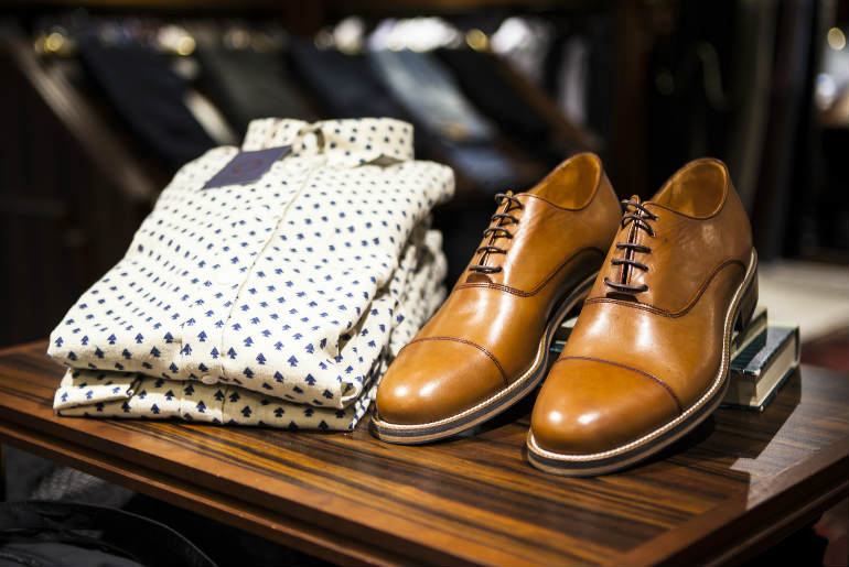 camasa casual, pantofi maro, casual, smart casual, business casual