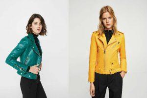 cu ce ma imbrac, jacheta de piele, geaca de piele, galben, verde