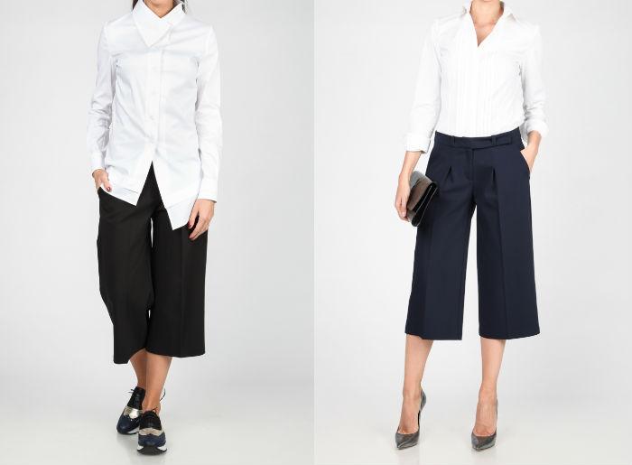 pantaloni trei sferturi, combinații, cu ce ma imbrac