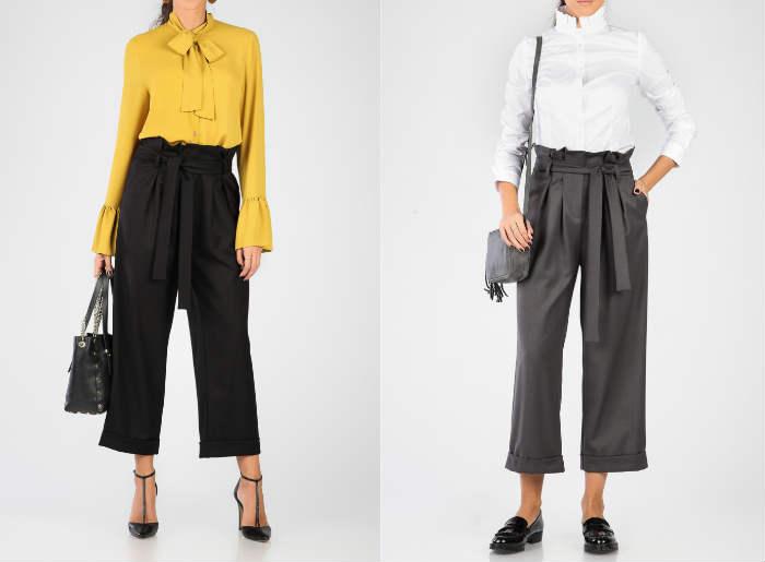 pantaloni trei sferturi, combinații, cu ce ma imbrac, pantaloni cu talie inalta