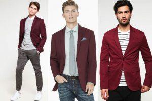 sacou bordeaux, sacou bordo, burgundy jacket, smart casual