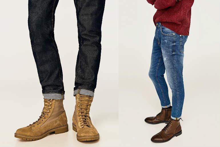 cu ce ma imbrac, ghete, maro, piele, piele intoarsa, jeans, blugi
