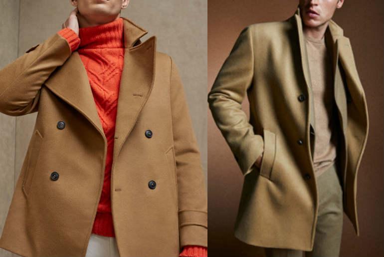 cu ce ma imbrac, palton, pardesiu, maro, casmir, camel