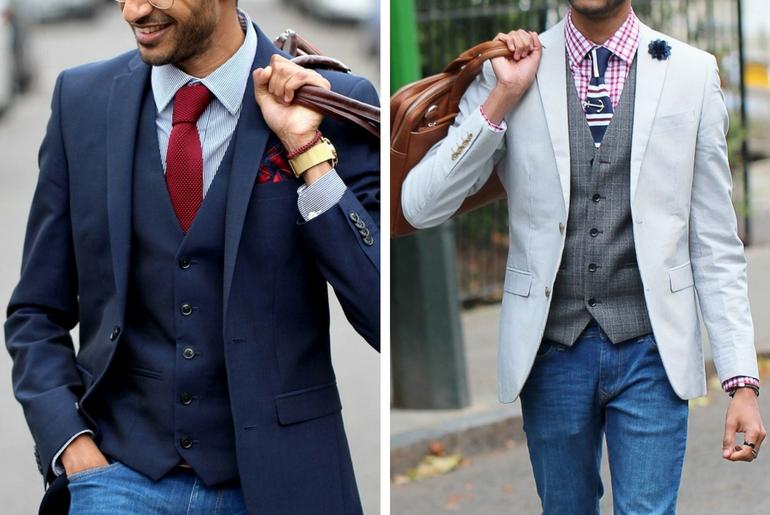 cu ce ma imbrac, cucemaimbrac, cravata tricotata, smart casual, business casual, camasa cu carouri, vesta