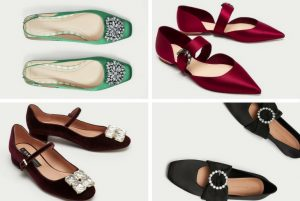 cu ce ma imbrac, cucemaimbrac, pantofi fara toc, pantofi eleganti fara toc, strasuri, pietre, cristale