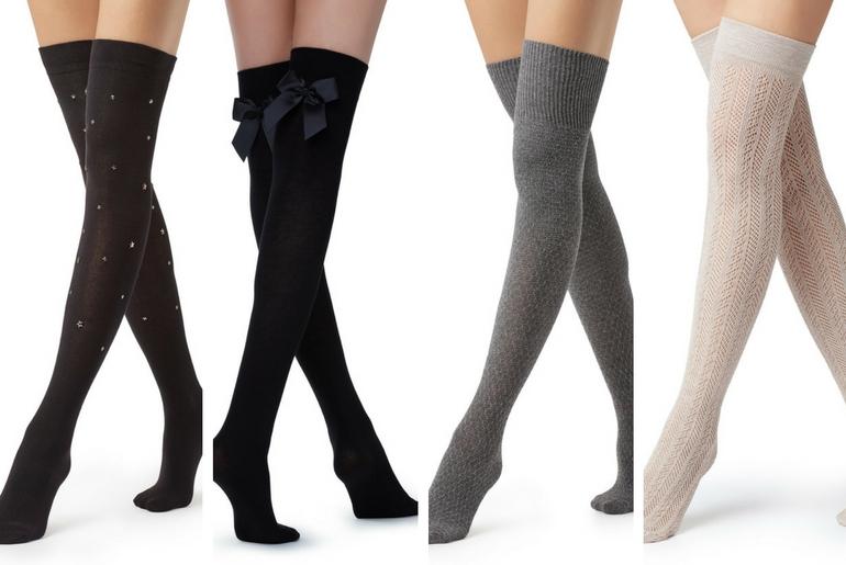 cu ce ma imbrac, cucemaimbrac, ciorapi peste genunchi, negru, gri, alb