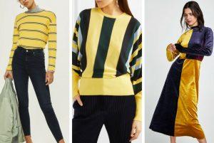 cu ce ma imbrac, cucemaimbrac, tinuta casual, galben, negru