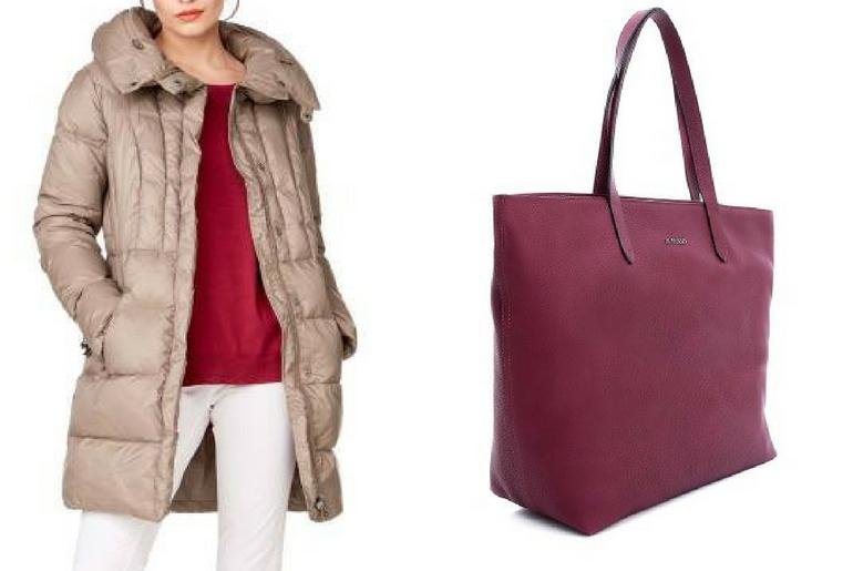 cu ce ma imbrac, cucemaimbrac, jacheta cu puf, geaca cu puf, bej, geanta, tote, bordeaux