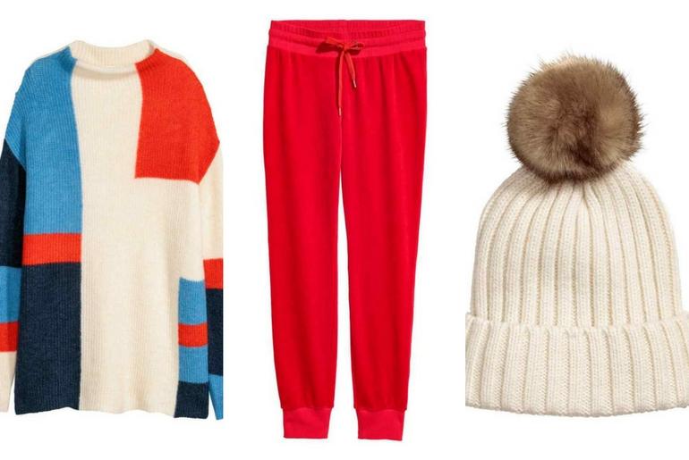 cu ce ma imbrac, cucemaimbrac, patinoar, alb,rosu, caciula, jogger, pulover