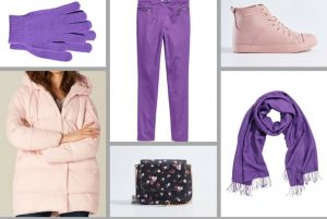 cu ce ma imbrac, cucemaimbrac, ultraviolet, 2018, culoarea anului, combinatii, roz