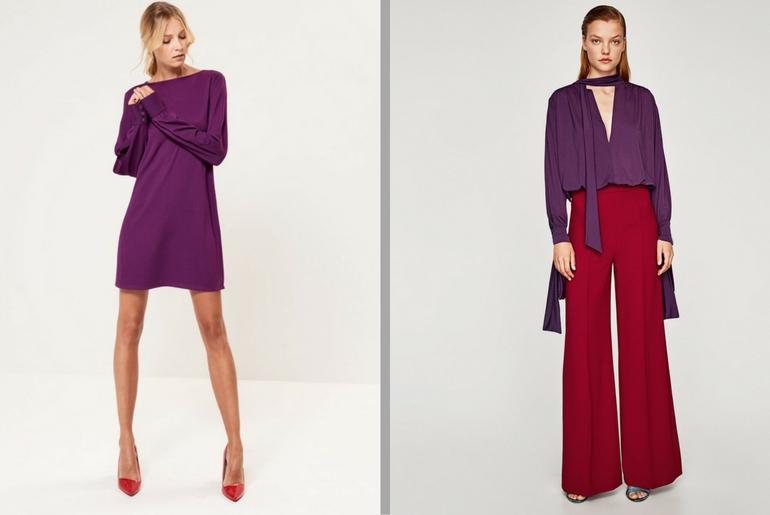 cu ce ma imbrac, cucemaimbrac, ultraviolet, 2018, culoarea anului, combinatii, rosu